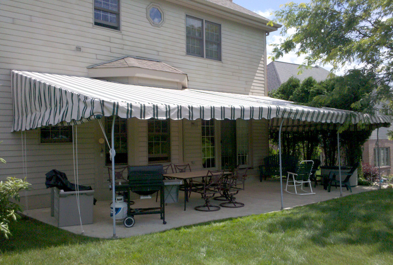 Stationary Awning Patio 5