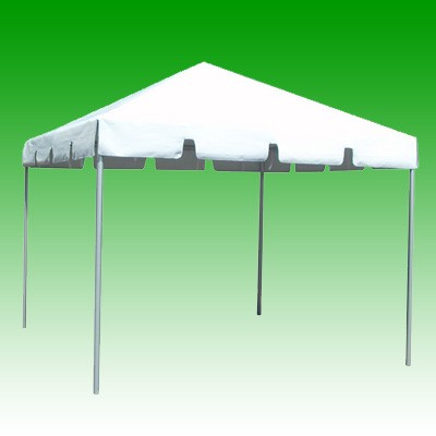 Tent Rental Set Up on Grass