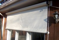 Greentree Window Awning - Residential retractable drop screen window awning 11.