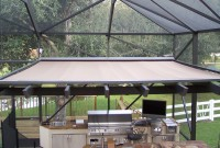 Residential veranda/pergola retractable awning 7a.