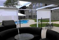 Bethel Park Patio Awning - Residential waterproof retractable roof awning 2a.