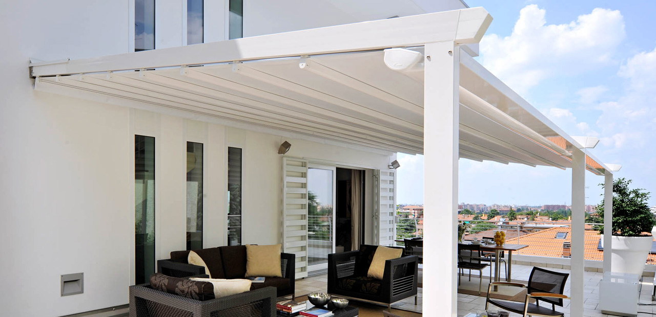 Waterproof Retractable Roof Awnings