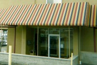 Mt. Lebanon Flat Panel Awnings - Commercial welded frame awnings 8a.