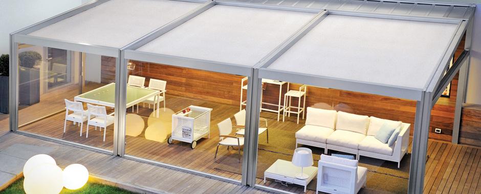 Waterproof Retractable Roof Awnings Pergotenda