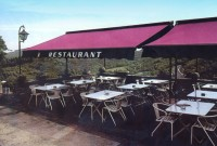 Commercial retractable terrace cover patio awning 23.