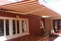 Residential adjustable pitch retractable patio awning 22.