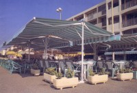 Commercial retractable terrace cover patio awning 19.