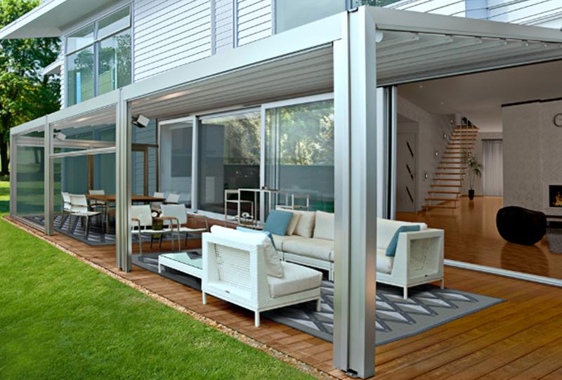 Waterproof Retractable Roof Awnings Photo Gallery