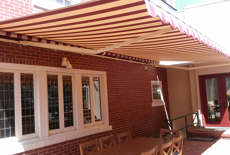 Adjustable Pitch Retractable Awning | Affordable Tent and ...